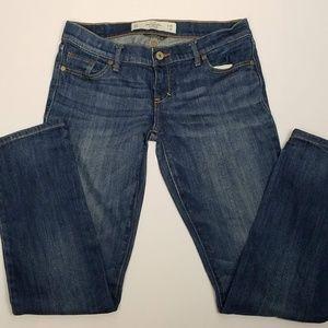 Abercrombie Erin jeans medium wash size 25/31
